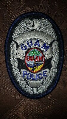 Guam police chest patch