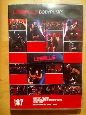 LesMills BODYPUMP release 87 - DVD, CD & Choreography Notes - FREE Shipping