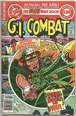 G.I. Combat #213 GD May 1979 Haunted Tank Joe Kubert Nazi cover Giant 68 page GI