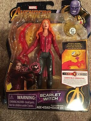 Marvel Avengers: Infinity War Scarlet Witch and Gamora