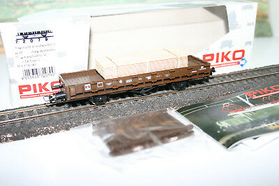 Ho  Wagon  Piko Plat Chargement Planches  Sncf Ref 72058 / 1 Neuf Le Train N° 31