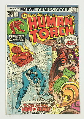 Marvel Bronze Age Human Torch #3 – 8.0 VF Great looking High-grade book!!!