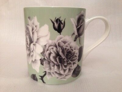 Queens, Rhs, Graham Stuart Thomas Roses, Vintage Peppermint Mug Cup Fine China