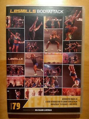 LesMills BODYATTACK release 79 - DVD, CD & Choreography Notes - FREE Shipping