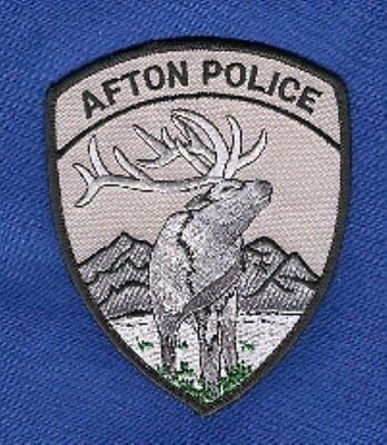 Law Enforcement Patch--Afton Wyoming--New*