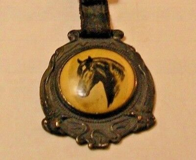 "Rare Percheron Society Of America Horse ""union Stock Yards"" Chicago  Watch Fob"