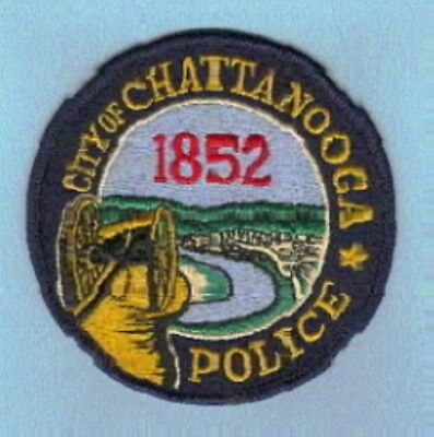 Law Enforcement Patch--Chattanooga Tn Police Department--New*