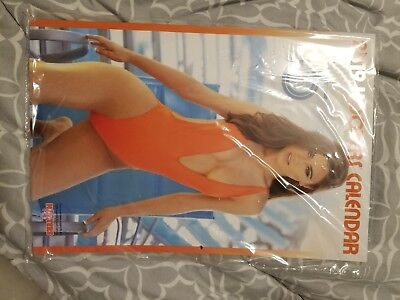 2019 Hooters Calendar SIGNED!!! With Rare Regional Poster And $100 in Coupons