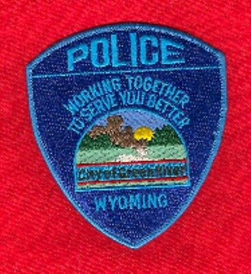 Law Enforcement Patch--Green River Wyoming--New*