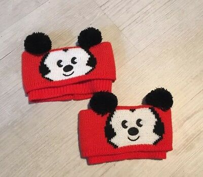 Mickey Mouse Disney Boot Topper Leg Warmers