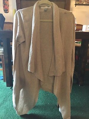 Women's Old Navy Maternity Cream Cardigan sweater Size Large L Pregnancy