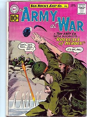 Our Army At War #109 -1961 Dc Comics -Gd/ Vg (3)Condition - Silver Age