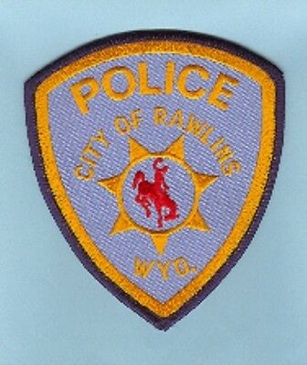 Law Enforcement Patch--Rawlins Wyoming--New*