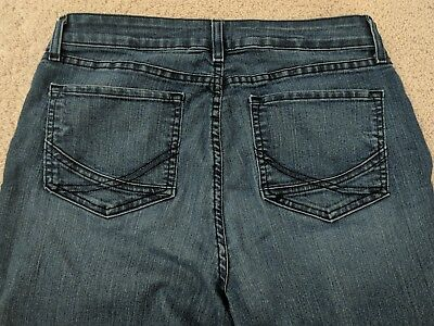 NYDJ Not Your Daughters Jeans Marilyn Straight Size 12 Cropped USA Medium Short
