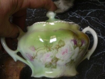 Antique Victorian sugar and Creamer Germany