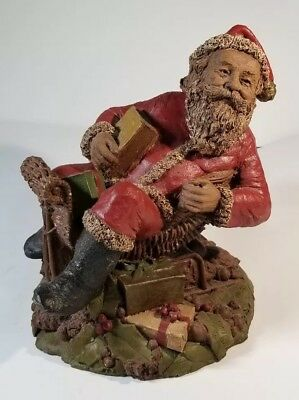 Santa Claus Sculpture Vintage Christmas Gift Holiday Home Decor Tom Clark Art