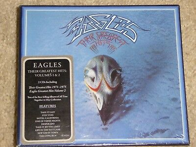 BRAND NEW! EAGLES **THEIR GREATEST HITS, VOLS 1 & 2** (2 Discs, 2017) FAST SHIP!