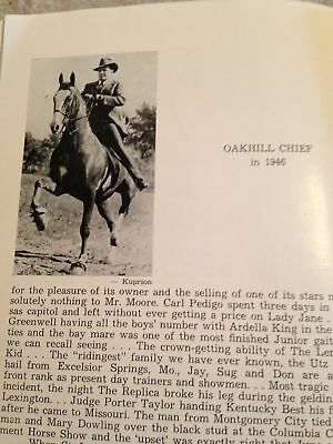 """Saddlebred Vintage Who's Who in Horsedom Vol 8 1955 - George Ford Morris """"Rare"""""""