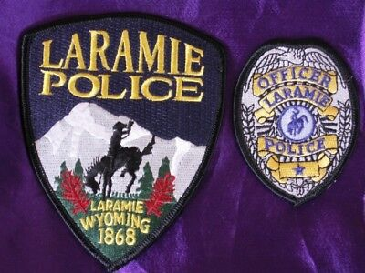 Law Enforcement Patches--City Of Laramie Wyoming Pd--New*