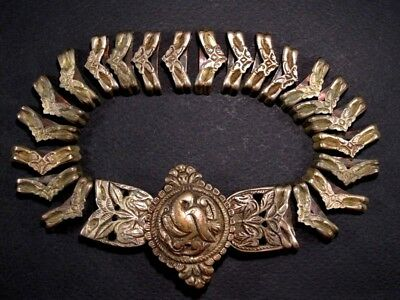 Extremely Rare, Well Preserved Post Medieval Silver Belt Buckle And Mounts+++