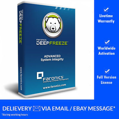 ⚡️ Deep Freeze Standard 8.30 - 2 PC's Lifetime License (Download Link + Key) ⚡️