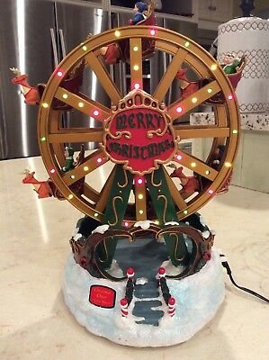 Hawthorne - Christmas Cheer Ferris Wheel that lights up- plays music - revolves