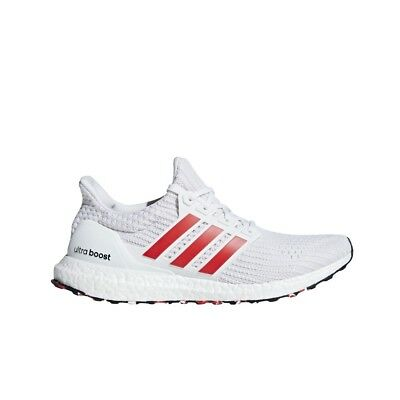 9123ee68db4 Adidas UltraBoost 4.0 (Cloud White Active Red Chalk White) Men s Shoes  DB3199