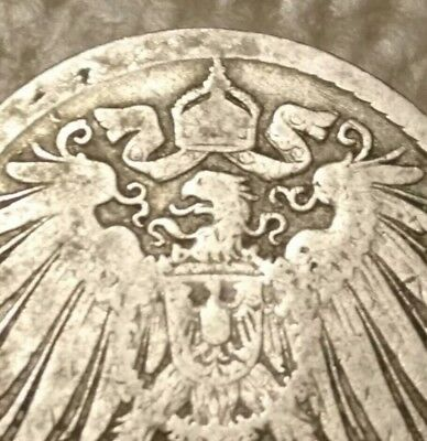 The 1896 GERMANY Eagle Pre Ww1 Nazi World War 2 Army Coin Old Christian Cross US