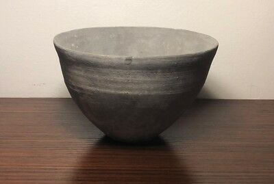 Fine Neolithic Chinese thin pottery bowl c.3000-2000 bc, private uk col