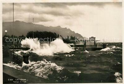 13300354 Lac_Leman_Genfersee Temps d`orage Lac_Leman_Genfersee