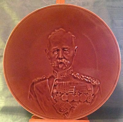 Field Marshal Lord Frederick Roberts Commemorative Portrait Plate