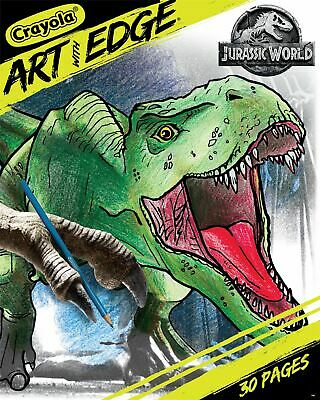 Crayola Art W/Edge Coloring Book-Jurassic World II