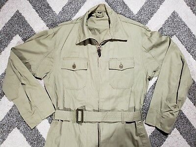 Wwii  U.s. Army Air Force An-S-31 Pilot Summer Flight Suit Size 40