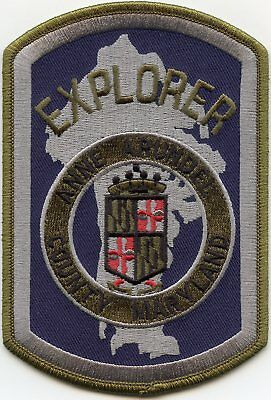 Anne Arundel County Maryland Md Explorer Police Patch