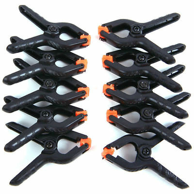 Lot of 10 Photo Studio Light Photography Background Clips Backdrop Clamps A Type