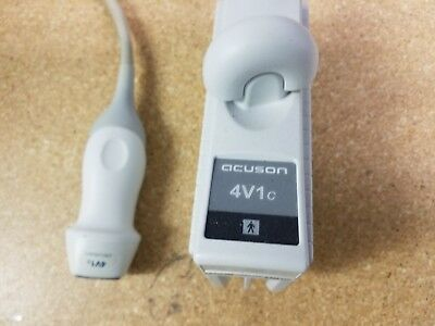 Siemens Acuson 4V1c Ultrasound Transducer as pictured working nice condition