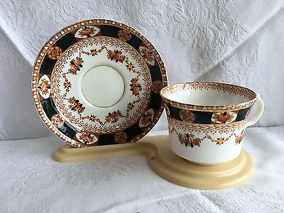 Roslyn China 2178 Imari Colours Tea Cup & Saucer (226)