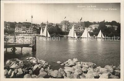 12585998 Ouchy Hafen Hotel Beau Rivage Palace Ouchy