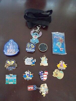 Vintage PIN Lot DISNEY Limited SPECIAL Edition RETIRED- Electric PARADE 4thJuly