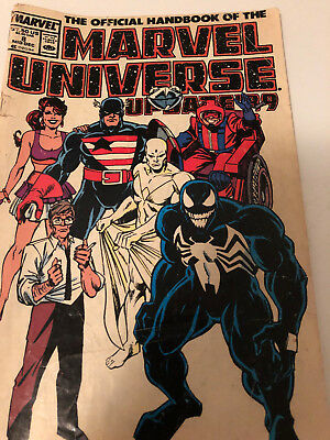VintageOfficial Handbook of the Marvel Universe Update '89