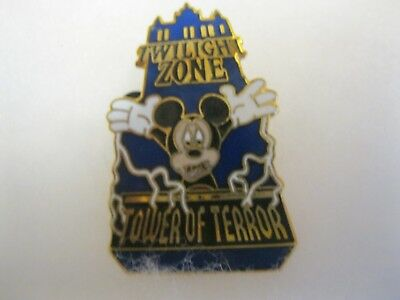 Walt Disney Twilight Zone Tower of Terror Mickey Mouse Lapel pin  issued 2002