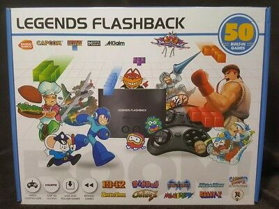 Legends Flashback Console With 50 Built-In Games ~ New/Sealed