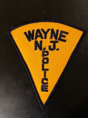 Old Wayne Township New Jersey Police Patch Unused