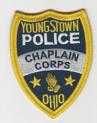 Chaplain Youngstown Police State Ohio OH patch