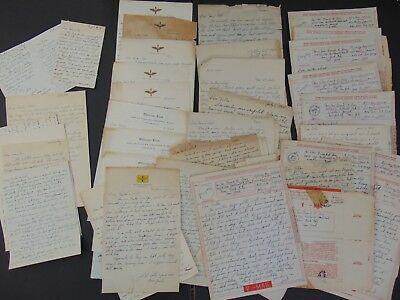 57 WORLD WAR TWO ARMY AIR FORCE LETTERS 1942 thru 1945 - NORTH AFRICA