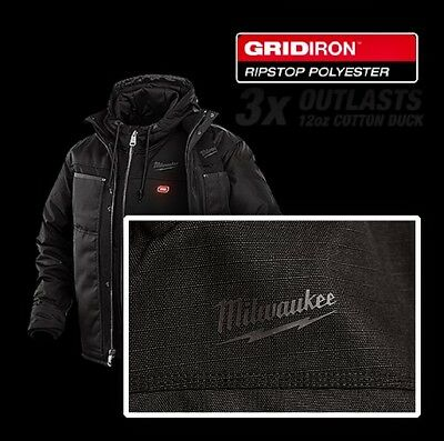 M12™ Ripstop Outer Jacket - Black (Outer Jacket Only) | Milwaukee Tool