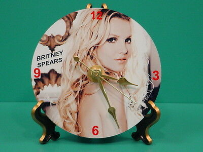 BRITNEY SPEARS - Photo - Designer Collectible GIFT Clock 03