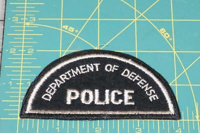 Department Of Defense Police Patch (0034)