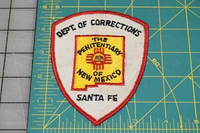 City Of Corrections The Penitentiary Of New Mexico Santa Fe Patch (1003)