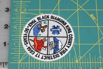 Black Diamond King County Washington District 17 Fire EMS Patch (897)